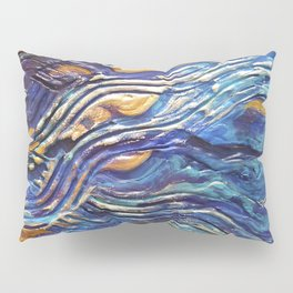 Abstract nautical background Pillow Sham