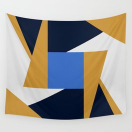 Abstract Geometric Wall Tapestry
