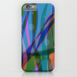 Abstract #355 iPhone Case