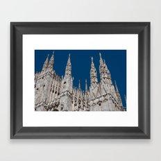Gothic skies Framed Art Print