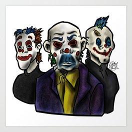 Joker Gang  Art Print