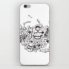 Little Russia doodle iPhone Skin