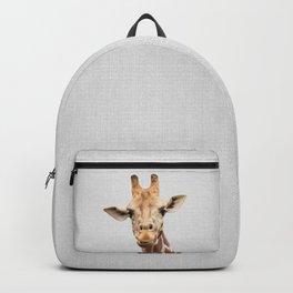 Giraffe 2 - Colorful Backpack