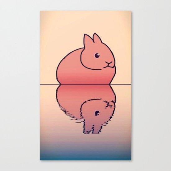 rabbit-78 Canvas Print