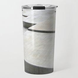 concrete geometry - modernist abstract 1 Travel Mug