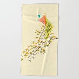 Triangled 01 Beach Towel