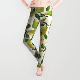 Green Pears Leggings