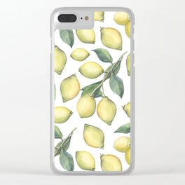 Lemon Fresh Clear iPhone Case