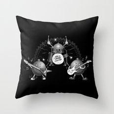 SEX BOB-OMB - B&W Throw Pillow