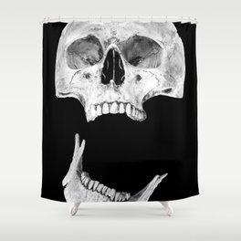 Jaw Drop Shower Curtain
