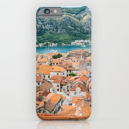 Kotor old town iPhone Case