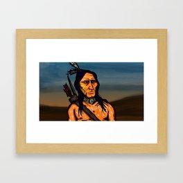 Crazy Horse Framed Art Print