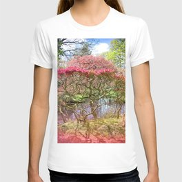 Japanese Garden And Pond T-shirt