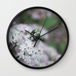 Hard worker Wall Clock