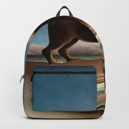 The Sleeping Gypsy by Henri Rousseau Backpack