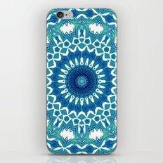 Sea Green Mandala iPhone & iPod Skin