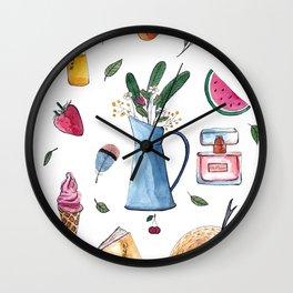 Summer set Wall Clock