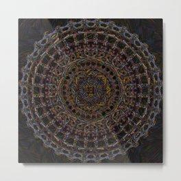 psychonaut mandala Metal Print