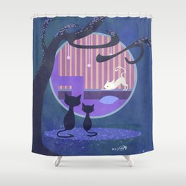 Inequality Shower Curtain