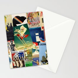 Olympics Montage Stationery Cards