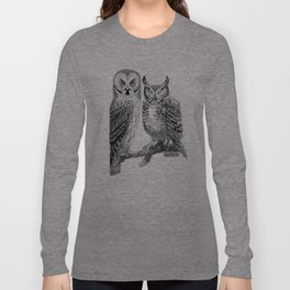Bubo and Strix Long Sleeve T-shirt