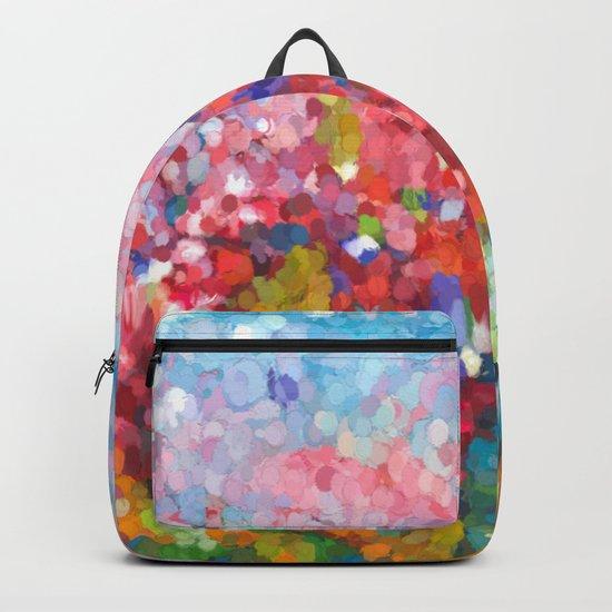 Abstract Garden Backpack