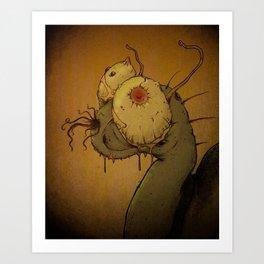 Steven the Snail Art Print