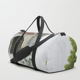House with Closed Windows Duffle Bag