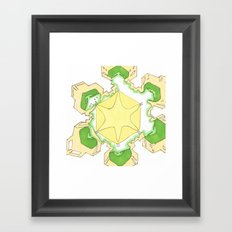 Seasons greetings.. Framed Art Print