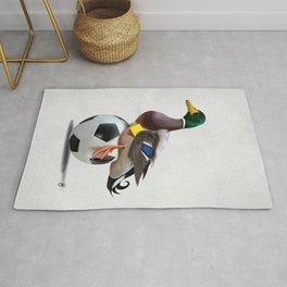 Fowl (Wordless) Rug