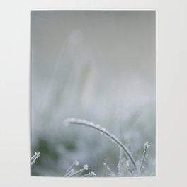 Frozen is the green grass Poster