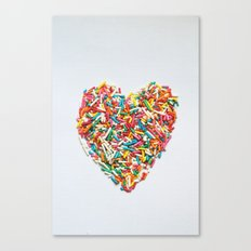 Sprinkles Party I Canvas Print