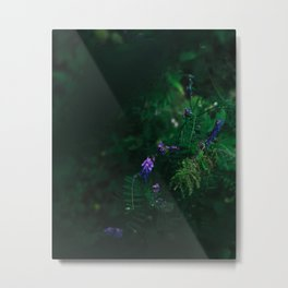 Peeking flower Metal Print