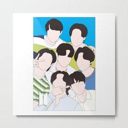 BTS FanArt Metal Print