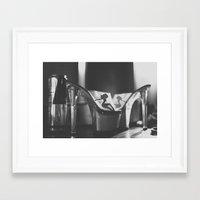 taurus Framed Art Prints featuring Taurus by CamRaFace