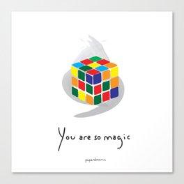 You are so Magic Canvas Print