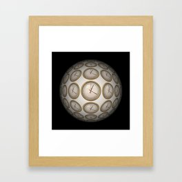 Time Time Time Framed Art Print