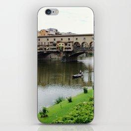 ponte vecchio, florence, italy iPhone Skin