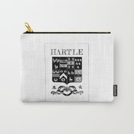 Hartle Coat of Arms - Embellishments Carry-All Pouch