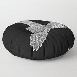 Peregrine Falcon Floor Pillow
