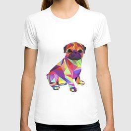 Pug Dog Molly Mops T-shirt