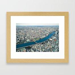 Tokyo Cityscape 05 Framed Art Print