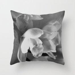 That Midas Touch - BW Throw Pillow