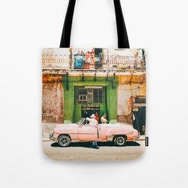 Summer in Cuba Tote Bag