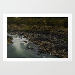 Great Falls in Autumn Art Print