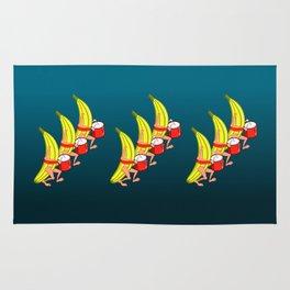 Banana Marching Band Rug