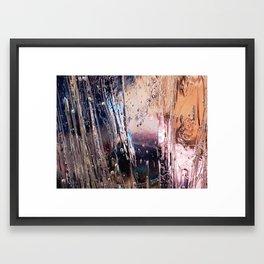 Streaks Framed Art Print