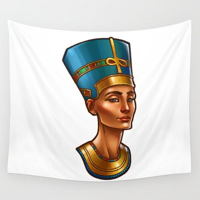 Nefertiti's Quest : Nefertiti Wall Tapestry