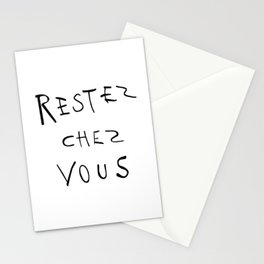 Restez chez vous 01 Stationery Cards