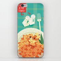 :::Butterflies in your stomach::: iPhone & iPod Skin